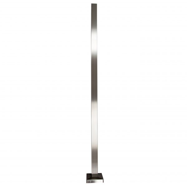 Square Stainless Steel Post, Stair Parts Depot
